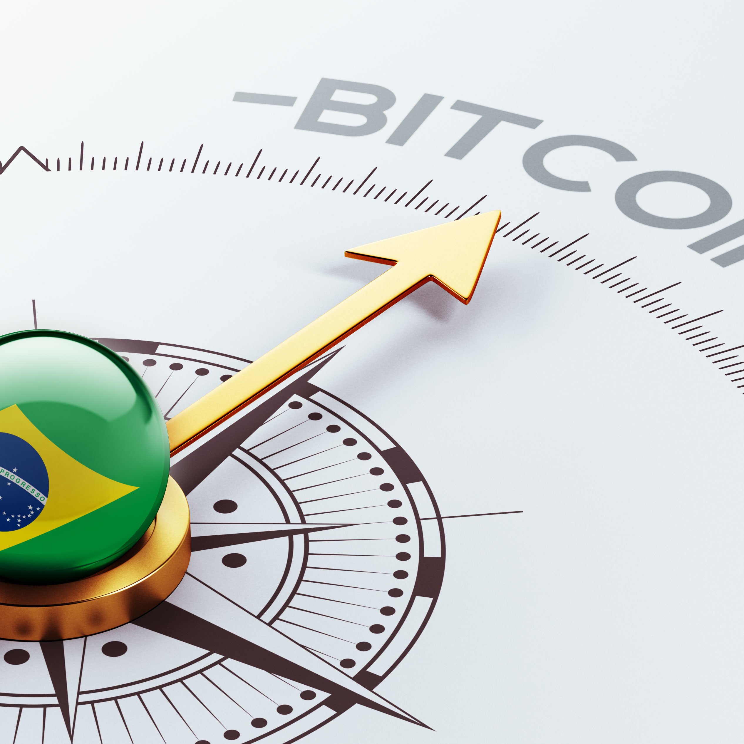 Brazil High Resolution Bitcoin Concept